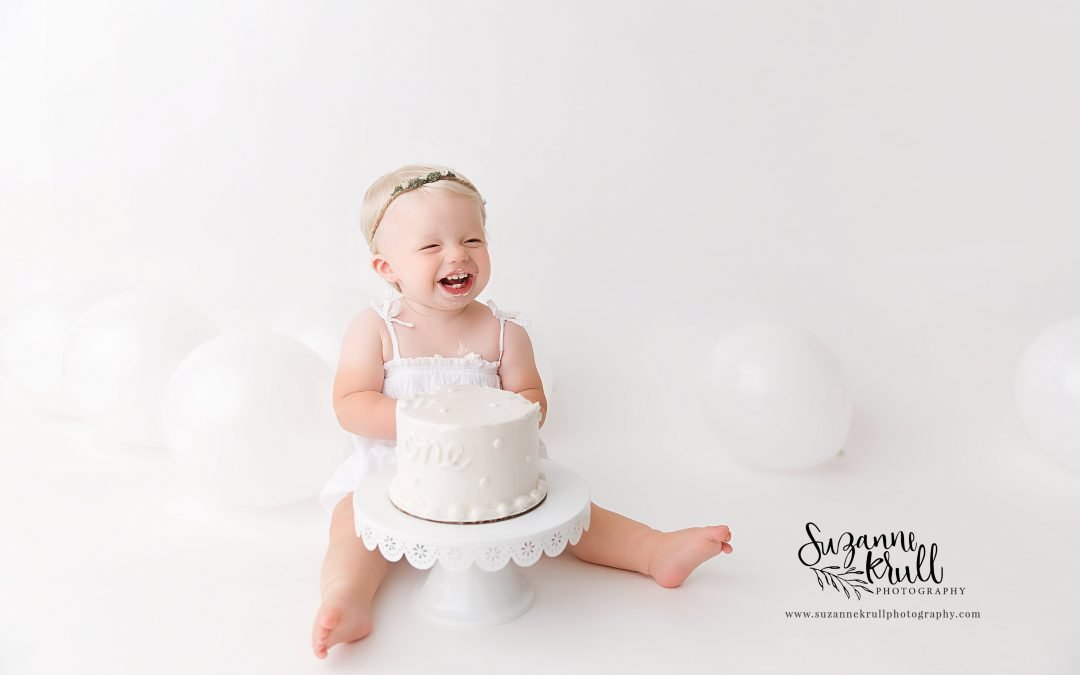 Sycamore Baby Photographer | One Year Session